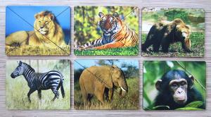 Разрезные картинки Дикие животные
