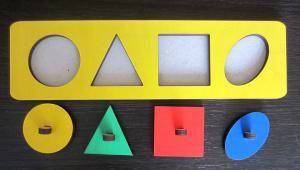 Рамки-вкладыши Геометрические фигуры