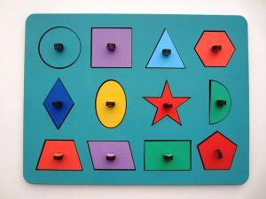 Рамки-вкладыши Монтессори Геометрия