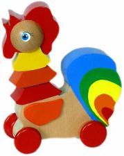 Игрушка-каталка Петушок Крона