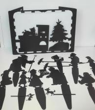 Фигурки для театра теней Морозко