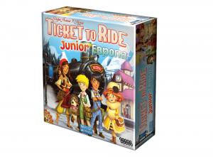 Настольная игра Билет на поезд Ticket to ride Junior Европа