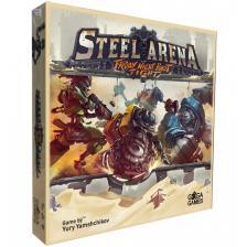 Настольная игра Стальная Арена Бои Роботов По Пятницам Steel Arena: Friday Night Robot Fight