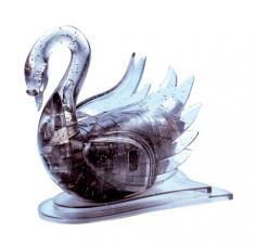 Crystal Puzzle Лебедь черный 3Д пазл