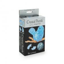 Crystal Puzzle Птичка голубая 3Д пазл