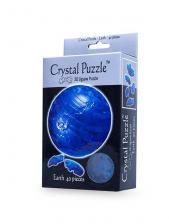 Crystal Puzzle Планета Земля голубая 3Д пазл