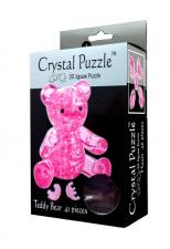 Crystal Puzzle Мишка розовый 3Д пазл