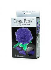 Crystal Puzzle Роза пурпурная 3Д пазл