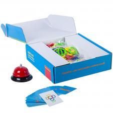 Настольная обучающая игра Цветная цепочка Bondibon
