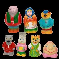 Набор резиновых игрушек Колобок
