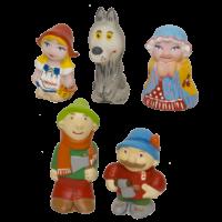 Набор резиновых игрушек Красная шапочка