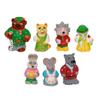 Набор резиновых игрушек Теремок