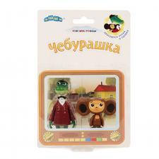 Набор игрушек Чебурашка и Крокодил Гена