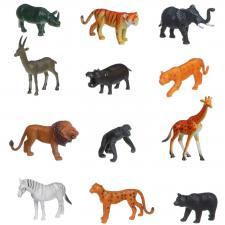 Набор Дикие животные 12 шт.  BONDIBON Ребятам о Зверятах