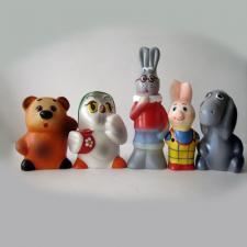 Набор резиновых игрушек Винни и его друзья