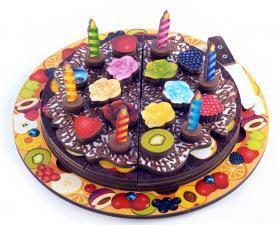 Торт - игровой набор (5 слоев, 54 эл.)