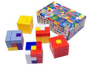 Кубики для всех пластиковые Корвет
