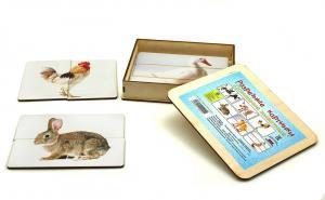 Разрезные картинки Домашние животные