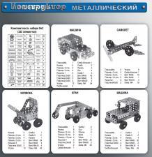 Металлический конструктор №3 для уроков труда