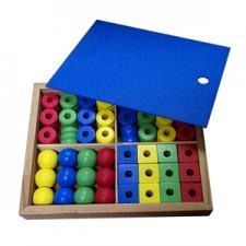 Дидактический набор в коробке (48 дет.)