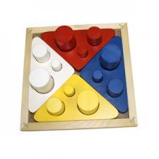 Цилиндры втыкалки (цвет, размер, диаметр) (RNToys)