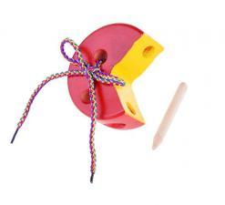 Шнуровка Сыр круглый цветной