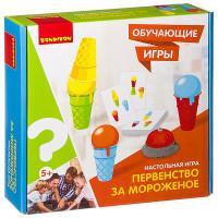 Настольная игра Первенство за мороженое Обучающие игры Bondibon