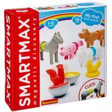 Магнитный конструктор SmartMax Bondibon, Мой первый набор животных фермы