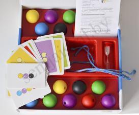 Настольная игра Разноцветные бусы (Alexander)