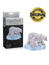 Crystal Puzzle 3D головоломка Два белых медведя