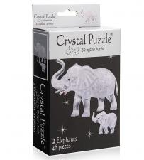 Crystal Puzzle 3D головоломка Два слона