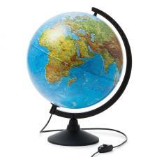Глобус Земли физико-политический 320 мм с подсветкой Globen