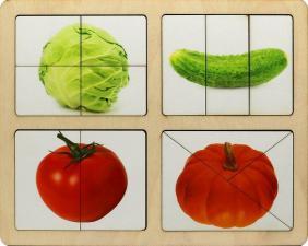 Разрезные картинки Овощи-1