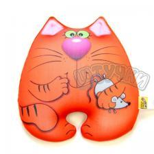 Антистрессовая игрушка Кот Мышкин бол. Спинка велюр