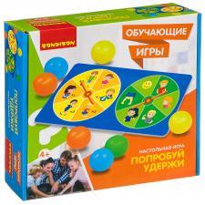 Настольная игра Попробуй удержи Обучающие игры Bondibon