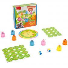 Настольная игра Голодные цыплята Обучающие игры Bondibon