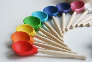 Набор Цветные ложки Уланик