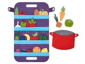 Сумка-игралка Овощи фрукты ягоды