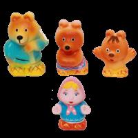 Набор резиновых игрушек Три медведя