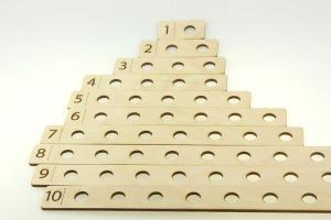 Набор деревянные Счётные дощечки Уланик