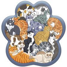Зоопазл  Кошки 14 дет. (дерево)