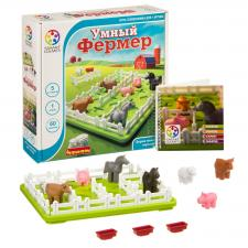 Настольная игра головоломка Умный фермер Бондибон