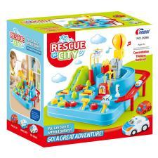 Развивающая игрушка Город спасателей. Механическое управление