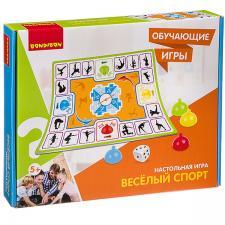 Настольная игра Веселый спорт Обучающие игры Bondibon