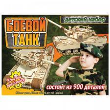 Боевой танк - конструктор Polly