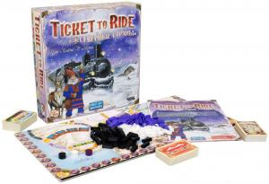 Настольная игра Билет на поезд: Северные страны Ticket to Ride