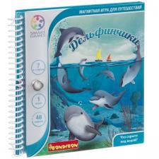 Головоломка Дельфинчики Bondibon Магнитная игра для путешествий