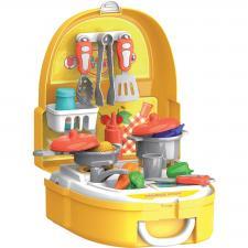 Кухня набор игровой в чемоданчике Bondibon