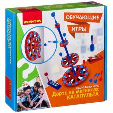 Настольная игра Дартс на магнитах «КАТАПУЛЬТА» Обучающие игры Bondibon
