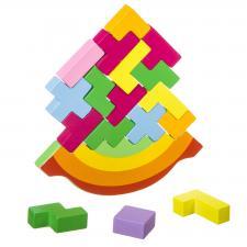 Настольная игра-баланс Равновесие развивающая игра из дерева Bondibon